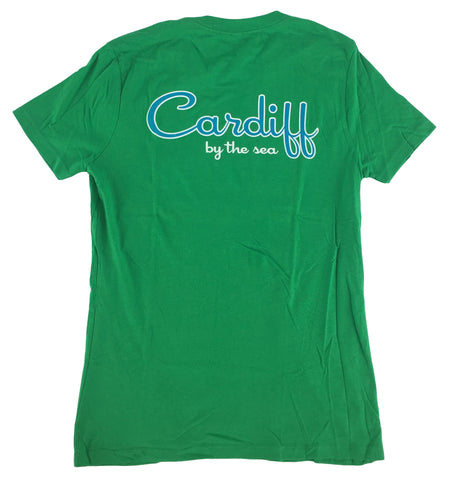 Women's CBS Short Sleeve Tee-Green