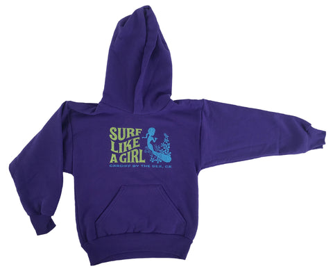 Youth Surf Like a Girl Hoody