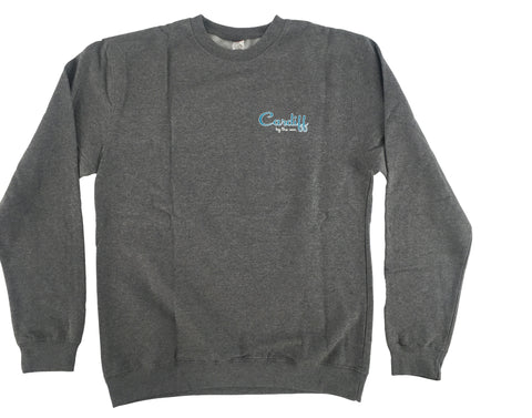 CBS Crew Neck-HEATHER GRAY