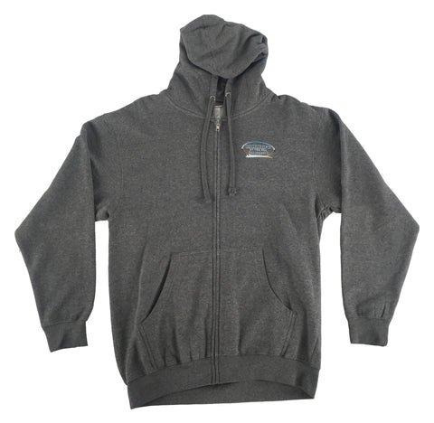 CBS Wave Hoody- DARK HEATHER GRAY