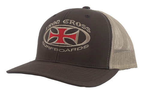 OG Trucker Hat Brown/Khaki Snapback
