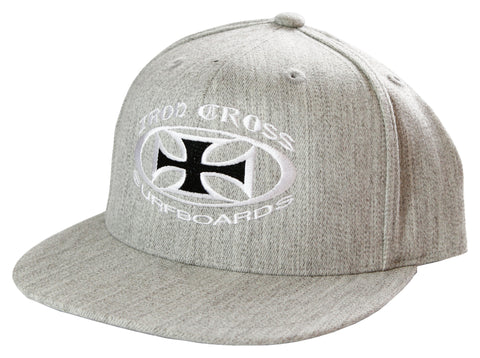 OG Fitted Hat- HEATHER GRAY
