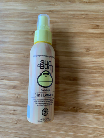 Sun Bum 3 in 1 Leave In  Detangling, Conditioning and Protecting daily hair treatment,