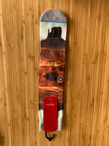 Utah Black Stance Socks