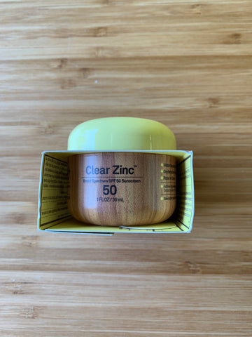 Clear Zinc Sunscreen Cream SPF 50