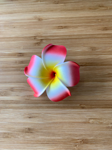 Flower hair clip (large)