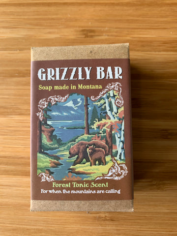 Grizzly Bear Forest Tonic Soap