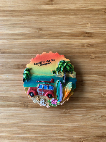 Cardiff by the Sea, California - Magnets
