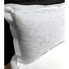 beddley.com White Jacquard Duvet Cover Set (NEW) with three sided open easycare zipper