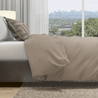brown quick change duvet cover queen
