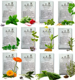 Pumene HERBS SEEDS AMERICAN GROWN 12 packets -USA ONLY