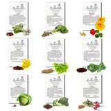 9 Types of Vegetable Seeds -USA ONLY