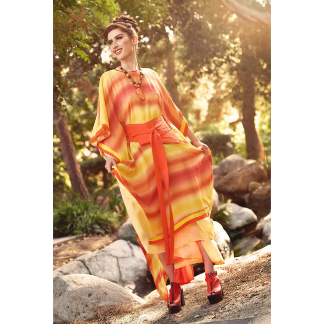 Passion Belted Caftan - Dresses