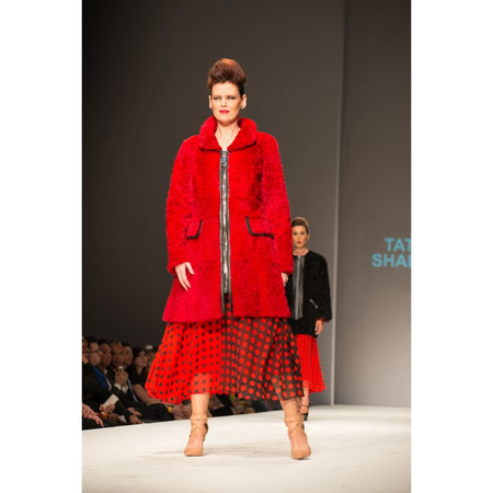 Red Fur Jacket - Coats & Jackets