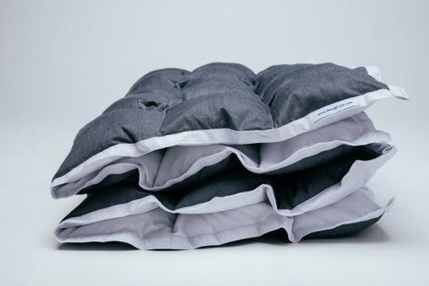 product shot of sensacalm weighted blanket.