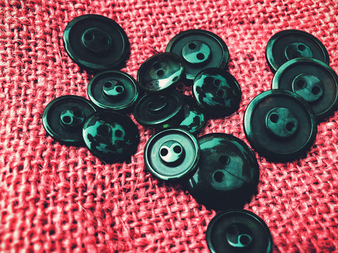close up image of buttons.