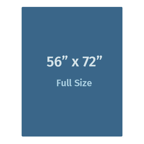 """Weighted Blanket - Full Size (56"""" x 72"""") For Adults"""