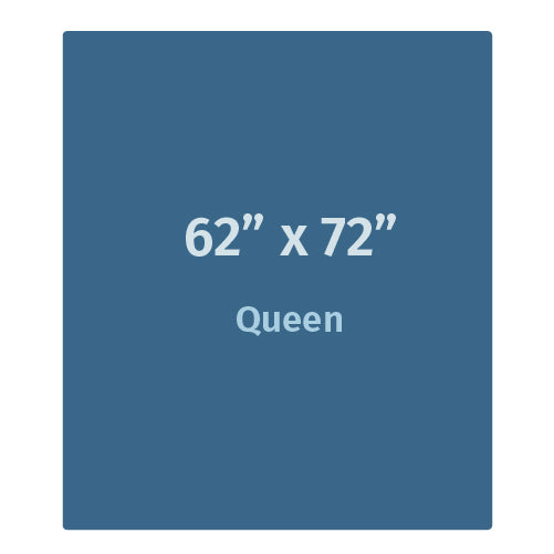 "Weighted Blanket - Queen (62"" x 72"") For Adults"