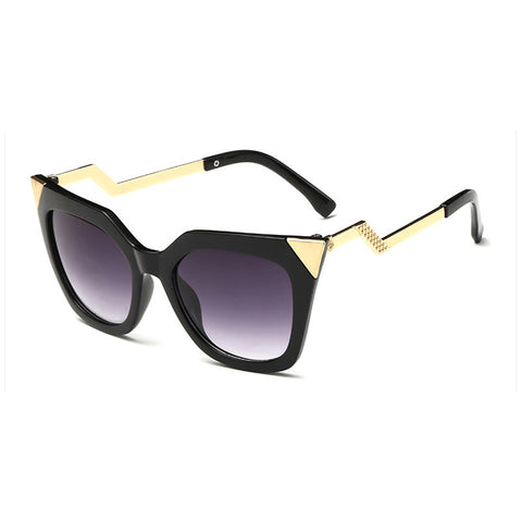 Vintage Gold Trim Sunglasses