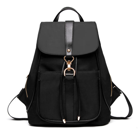 Trendy Drawstring Canvas Backpack