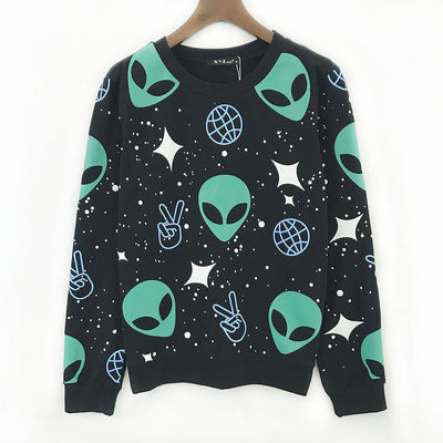 Outer-Space ET Pullover