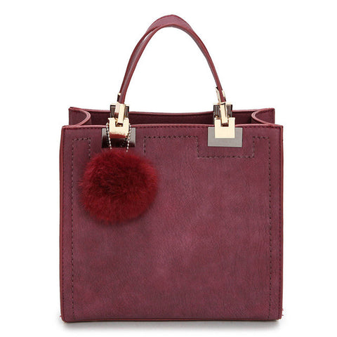Signature Poms Handbag