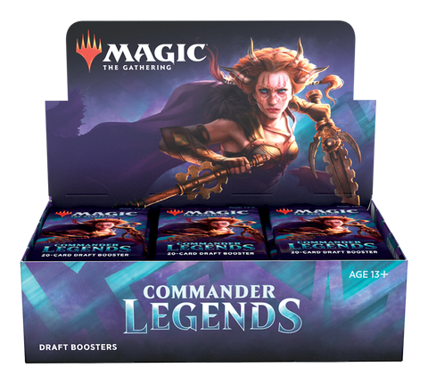 Commander Legends Draft Booster Box Pre-order
