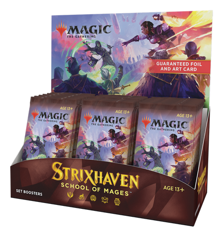 Strixhaven Set Booster Display with Buy-A-Box Promo Preorder