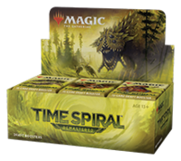 Time Spiral Remastered Draft Booster Display with Buy A Box Lotus Bloom