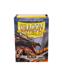 Dragon Shields: (100) Matte Black - Non Glare