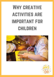 Why creative activities are important for children