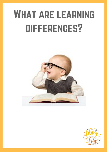 What are Learning Differences?