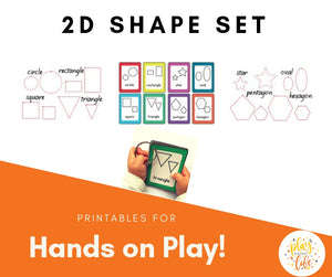 2D Shape Set
