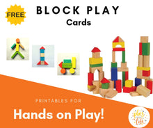 Block Play Cards
