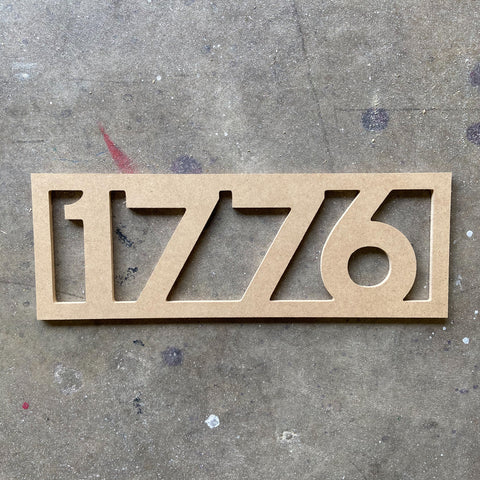 1776  - Unfinished