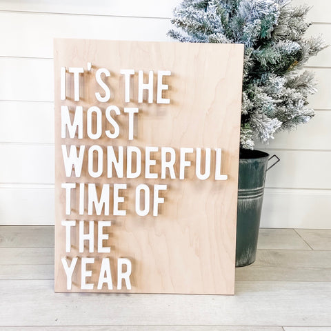 It's The Most Wonderful Time Of The Year - Unfinished