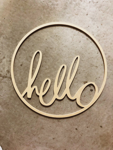Hello Hoop - Raw