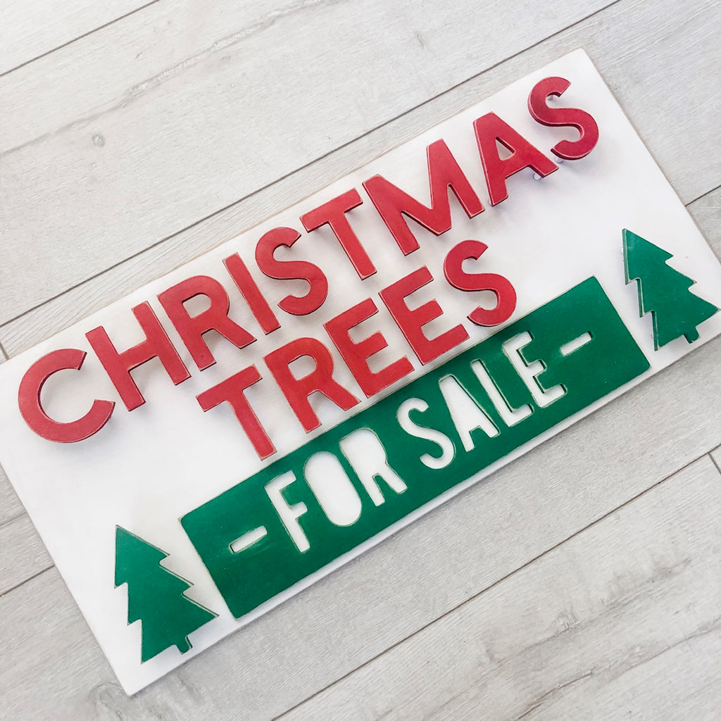 Christmas Trees for Sale - Finished
