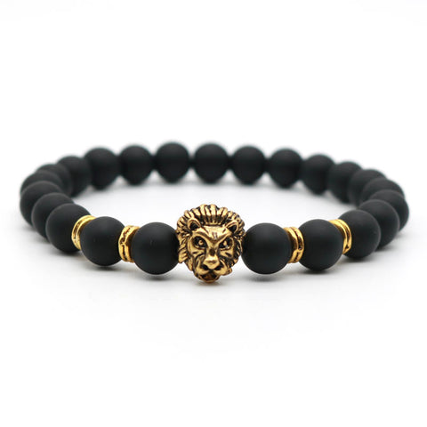 Black and Gold/Silver Buddha Bracelet