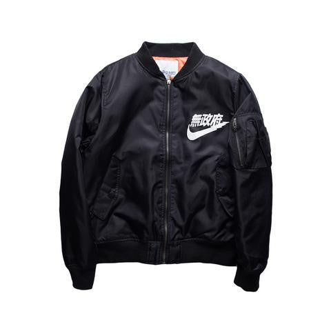 Japanese Anarchy Bomber Jacket