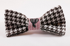 Crimson Tide Alabama Seersucker Houndstooth Bear Bryant Dog Bow Tie