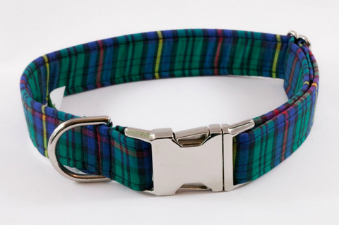 Tartan Plaid School Boy Dog Collar