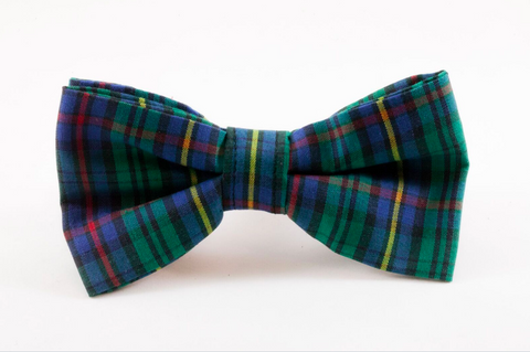 Tartan Plaid School Boy Dog Bow Tie