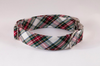 Tartan Plaid Bow Tie Dog Collar