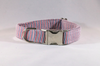 Preppy Red White and Blue Patriotic Pup Seersucker Bow Tie Dog Collar