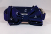 Navy Blue Anchor Dog Bow Tie Collar