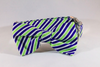 Navy Blue and Lime Dog Bow Tie Collar