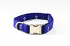 Navy Blue Anchor Dog Collar