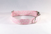 Pink Posy Floral Girl Dog Collar
