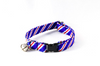 Red White and Blue Patriotic Stripes Kitty Cat Collar